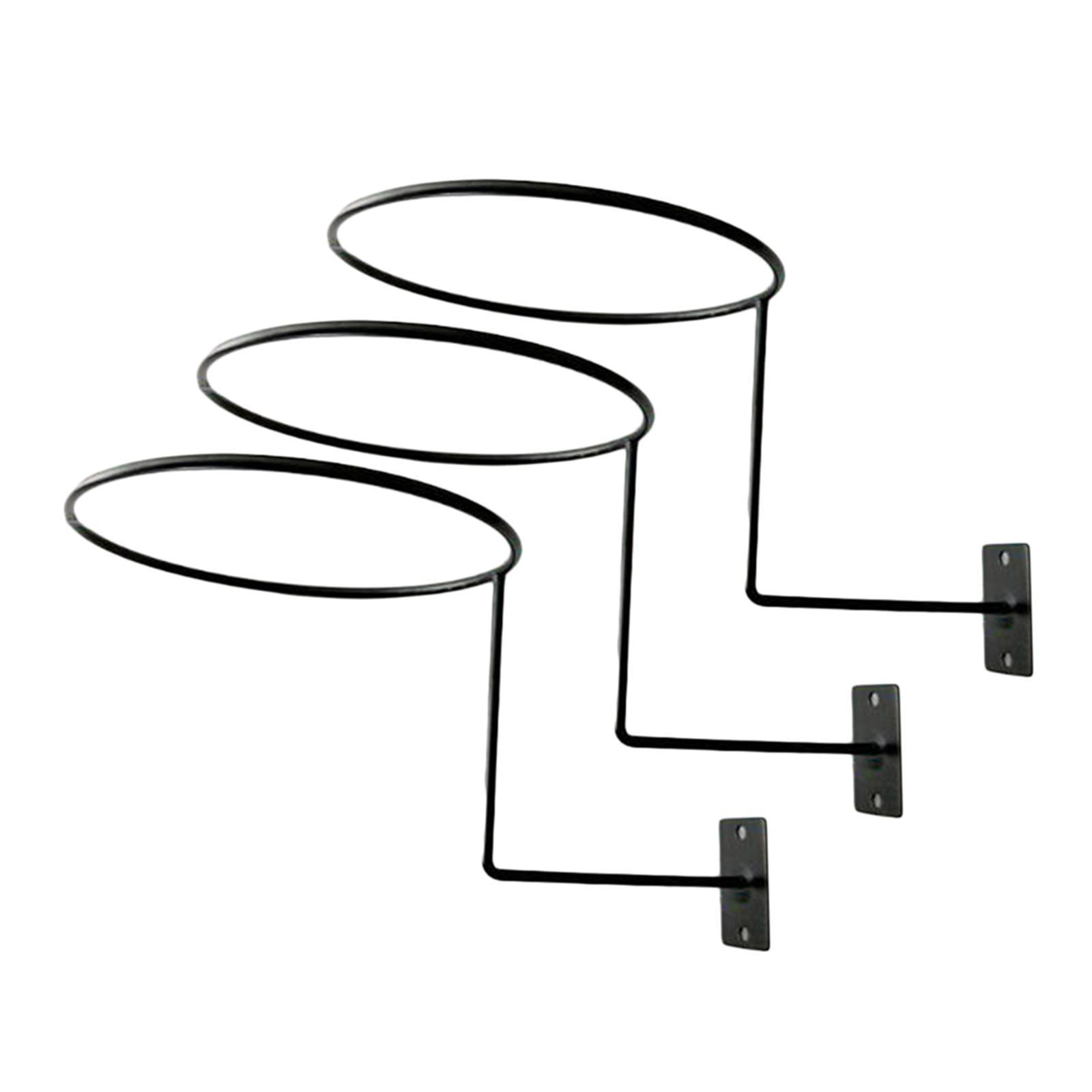 Supporto-per-casco-in-3-pezzi-supporto-per-cappello-supporto-a-muro-supporto miniatura 13