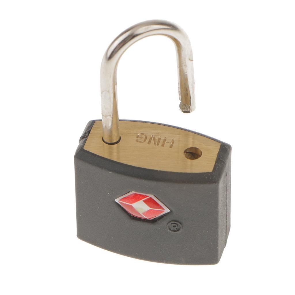 miniatura 6 - Robusto lucchetto di sicurezza TSA per valigia da viaggio con 2 chiavi