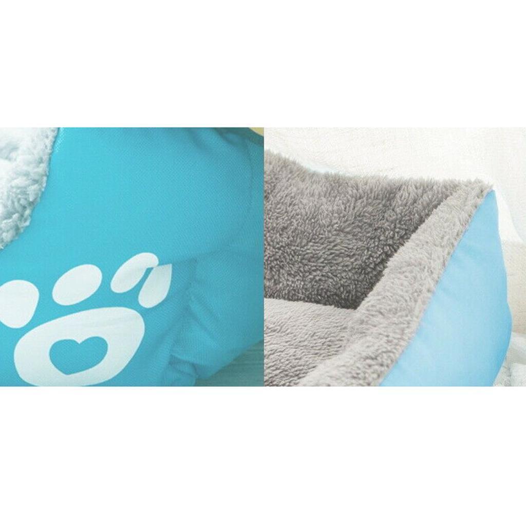 miniature 3 - Doux en peluche lit pour animaux de compagnie chien chat coussin de couchage
