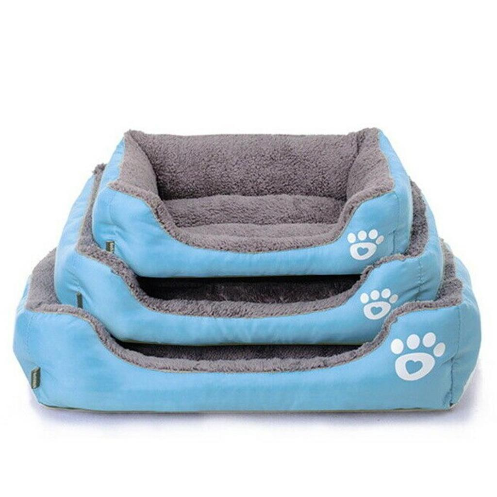 miniature 3 - Lavable chat chien animal de compagnie chaud lit de couchage câlin panier