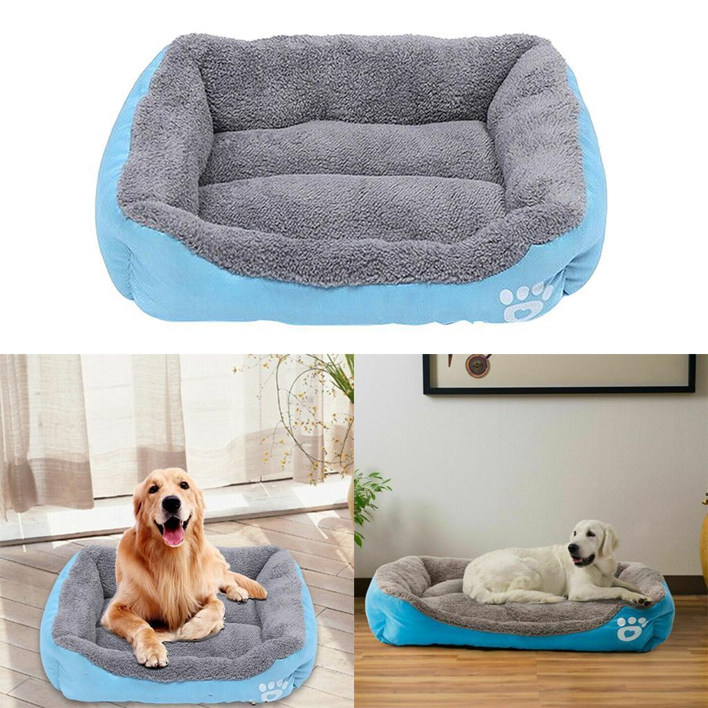 miniature 4 - Doux en peluche lit pour animaux de compagnie chien chat coussin de couchage