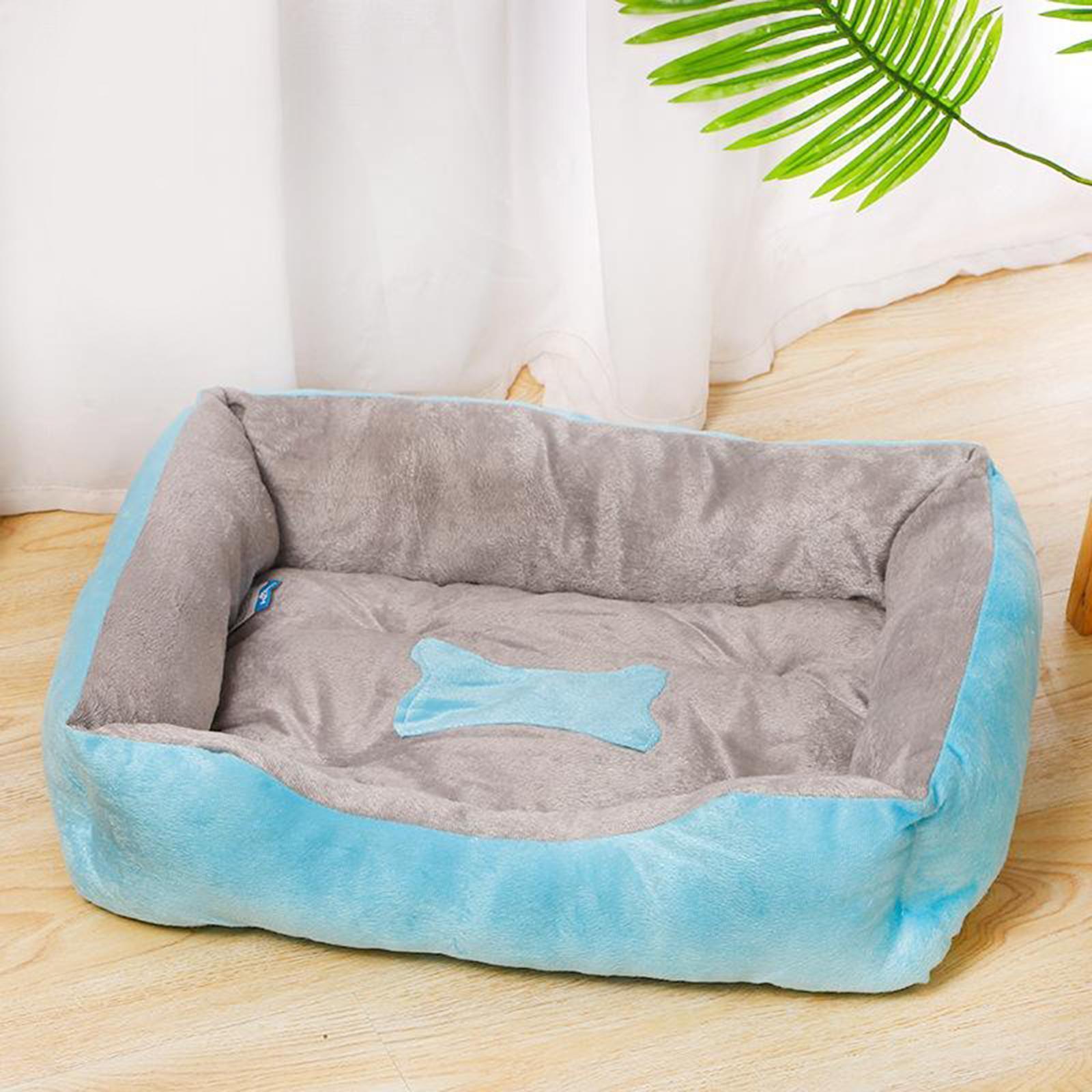 Indexbild 74 - Katze-Hund-Bett-Pet-Kissen-Betten-Haus-Schlaf-Soft-Warmen-Zwinger-Decke-Nest