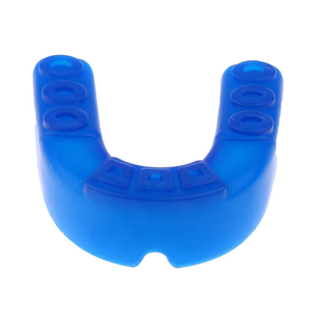 Indexbild 9 - EVA Adult Youth Mouthguard   Zahnknirschen Mundschutz Gum Shield für
