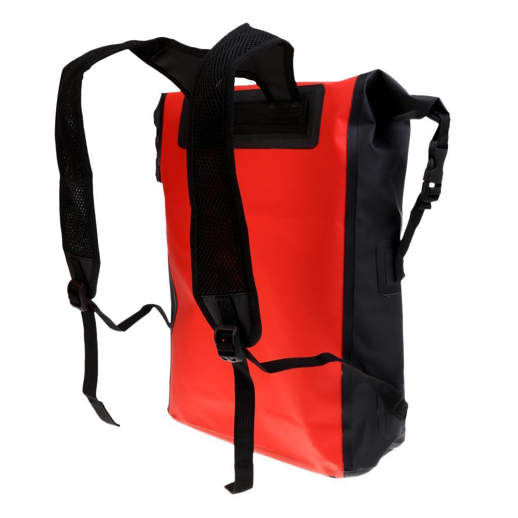 Sac-a-Dos-Impermeable-a-L-039-eau-Bagage-Pour-Canoe-Kayak-Bateau-Surf miniature 6