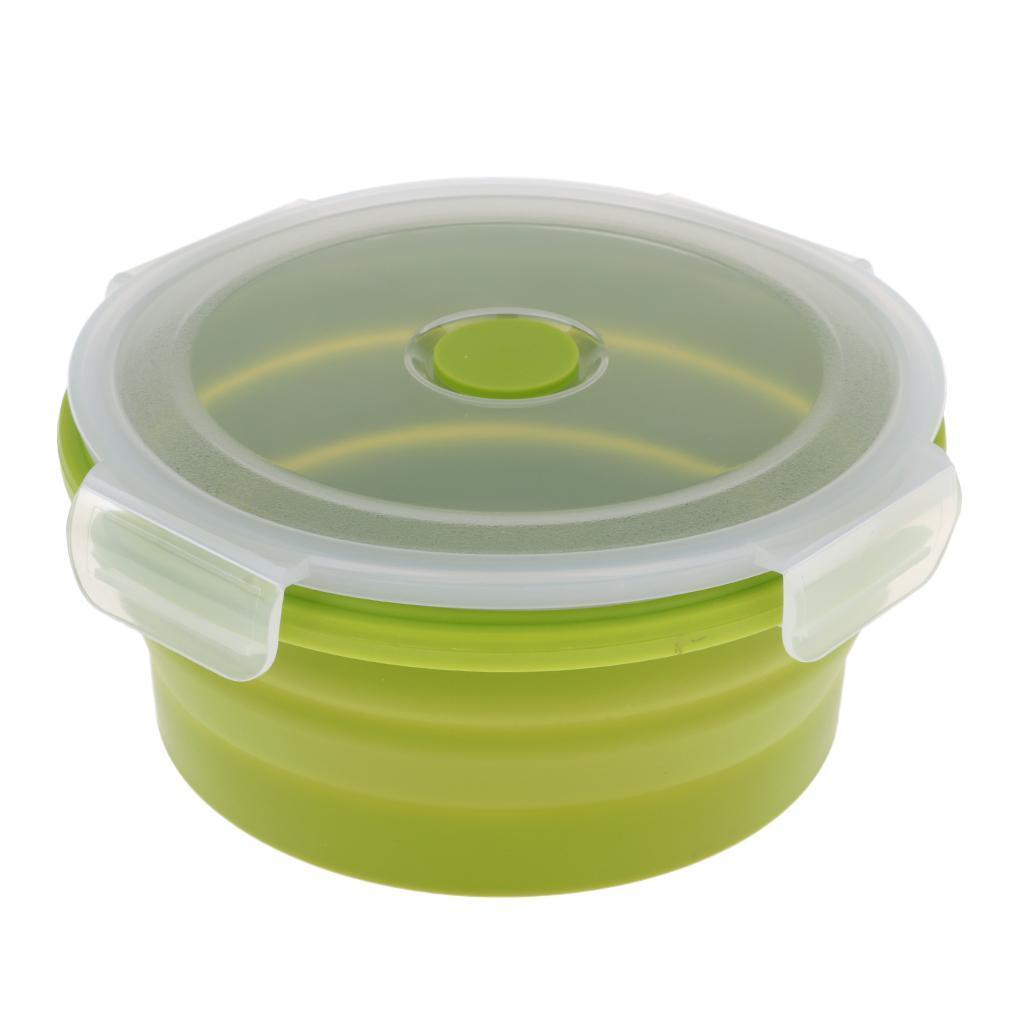 Bol-De-Camping-En-Silicone-Pliable-Qualite-Alimentaire-Et-Sans-BPA miniature 17