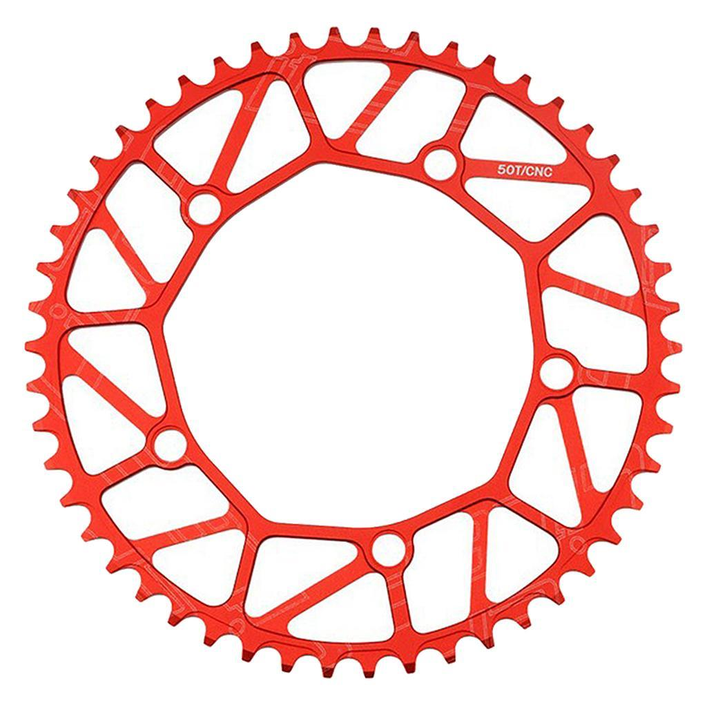 45//47//53//56//58T Folding Bike Chainring Narrow Wide 130BCD Bicycle Chain Wheel AU