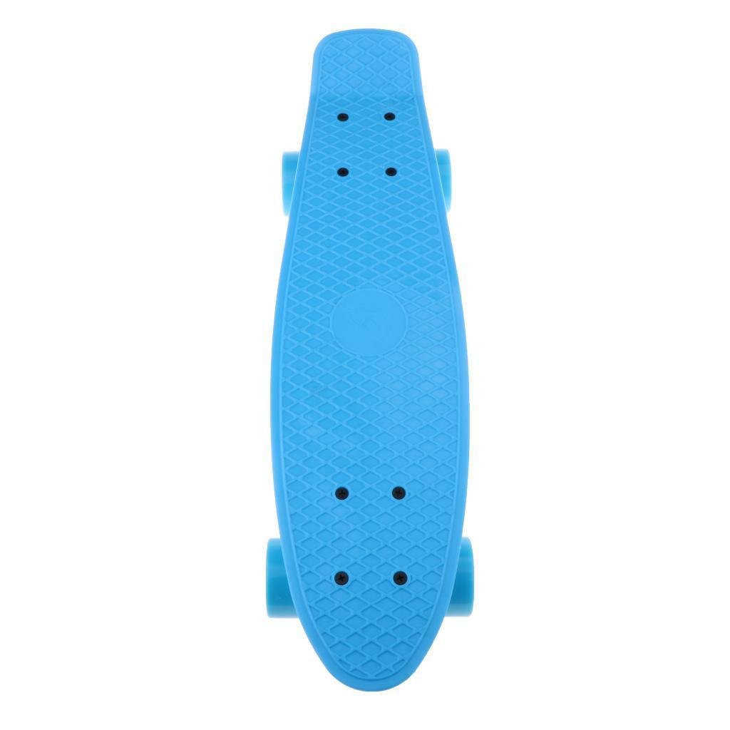 22-034-Cruiser-Skateboard-Longboard-Retro-Skateboard-per-bambini-Extreme-Sport miniatura 11