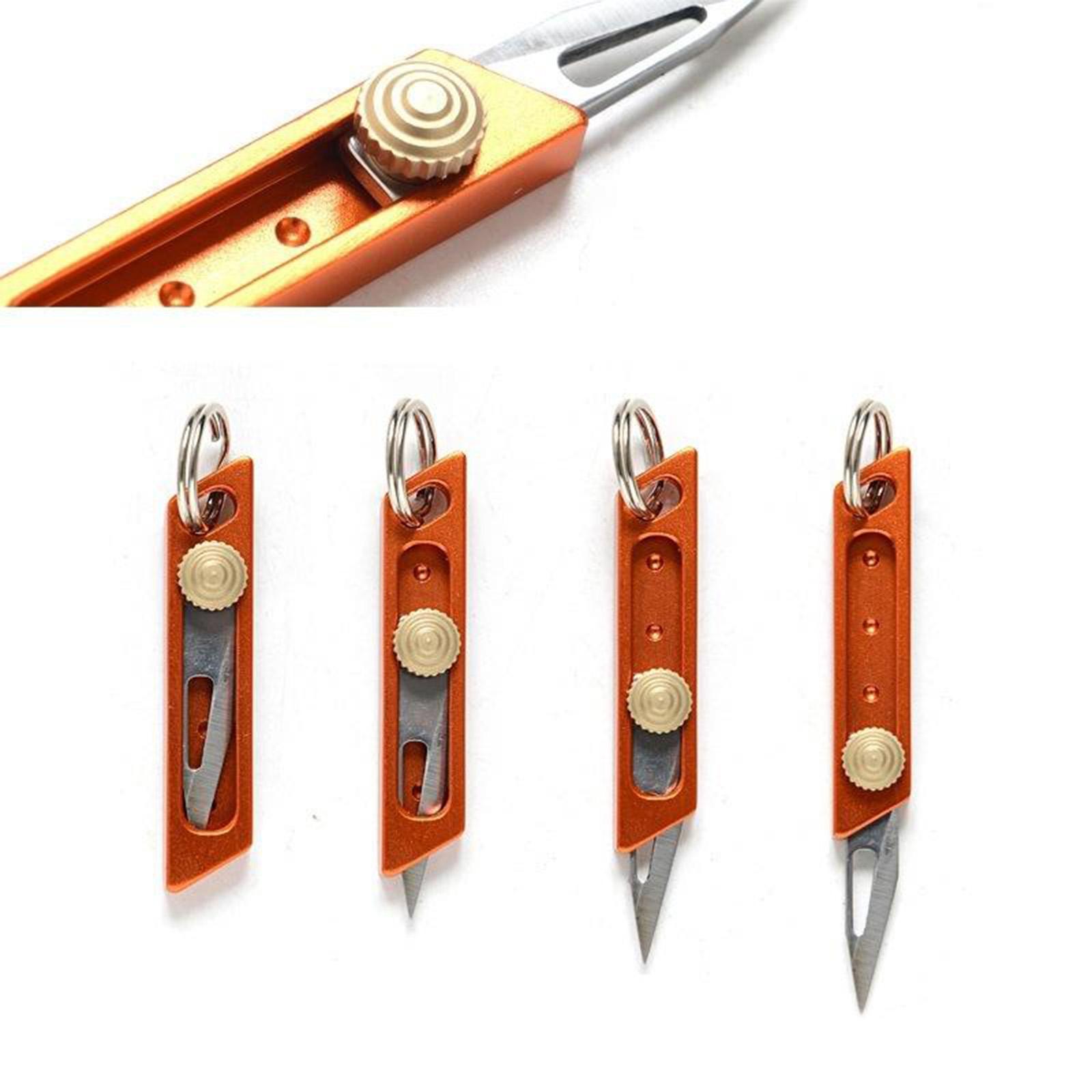 miniatura 33 - Multi Utility Coltello In Alluminio A Scomparsa di Carta di Taglio Tool Box Lama