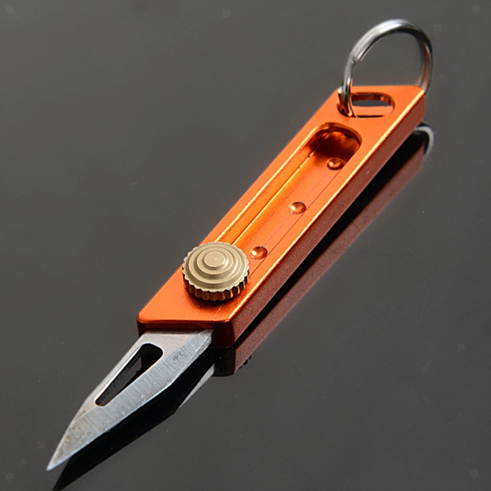 miniatura 26 - Multi Utility Coltello In Alluminio A Scomparsa di Carta di Taglio Tool Box Lama