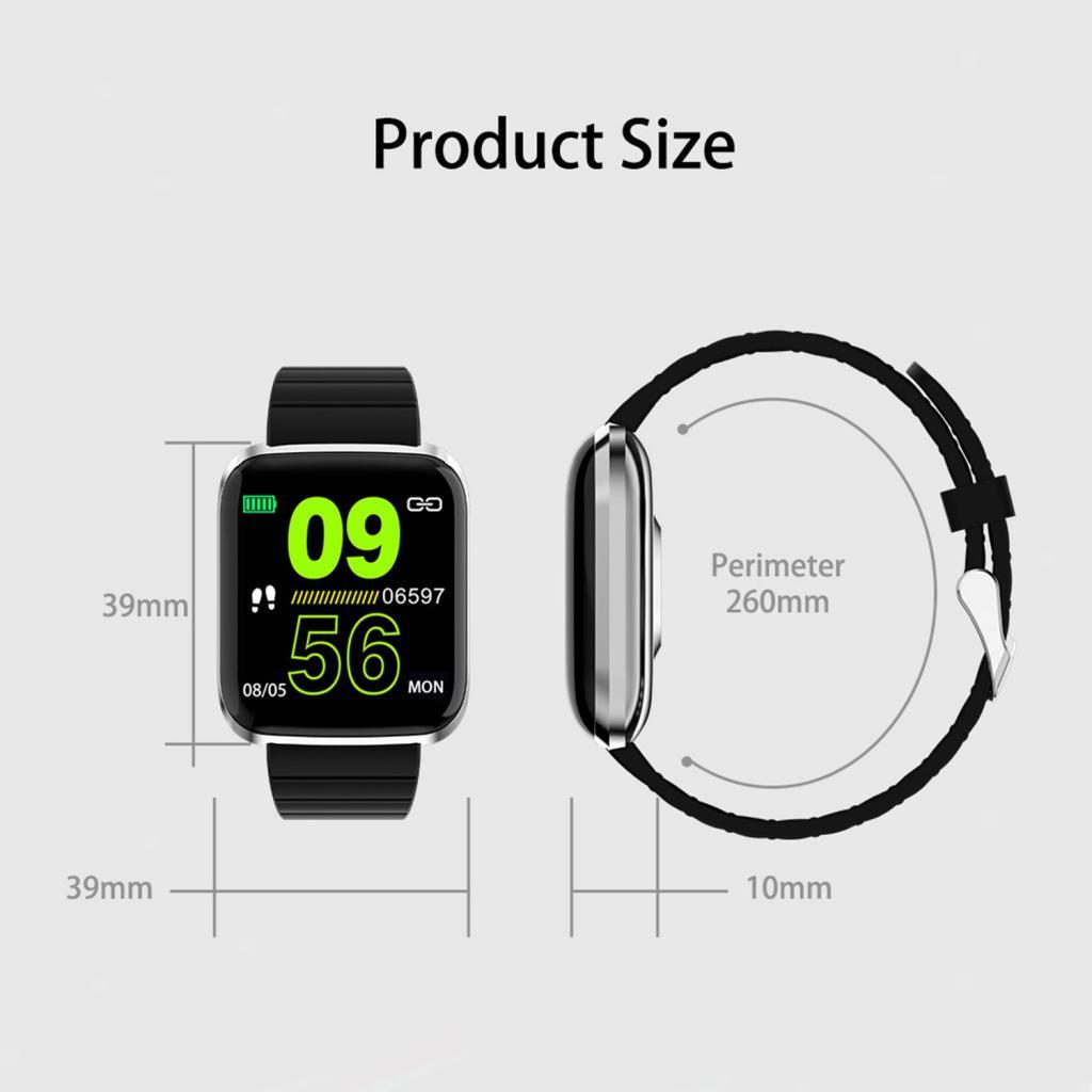 Indexbild 15 - Armband  mit Herzfrequenz   Blutsauerstoffüberwachung Schlafmonitor