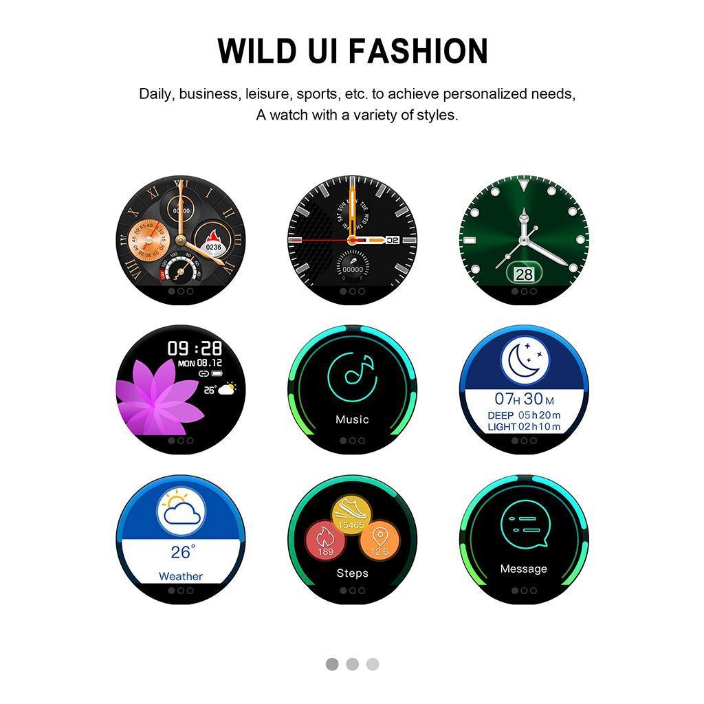 Indexbild 4 - Smartwatch Sportuhr mit Herzfrequenz Blutsauerstoffüberwachung Schlafmonitor