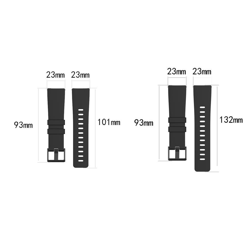Watch-Strap-Wrist-Band-Rubber-Band-for-Vers-for-Vers-Lite-for-versa-2 thumbnail 27