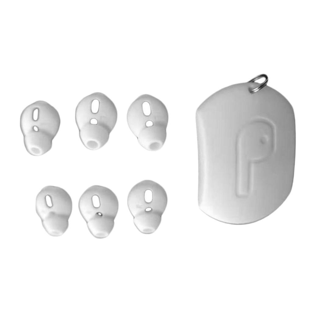 3 Pairs Silicone Earbuds Cover Tips Replacement Ear Buds
