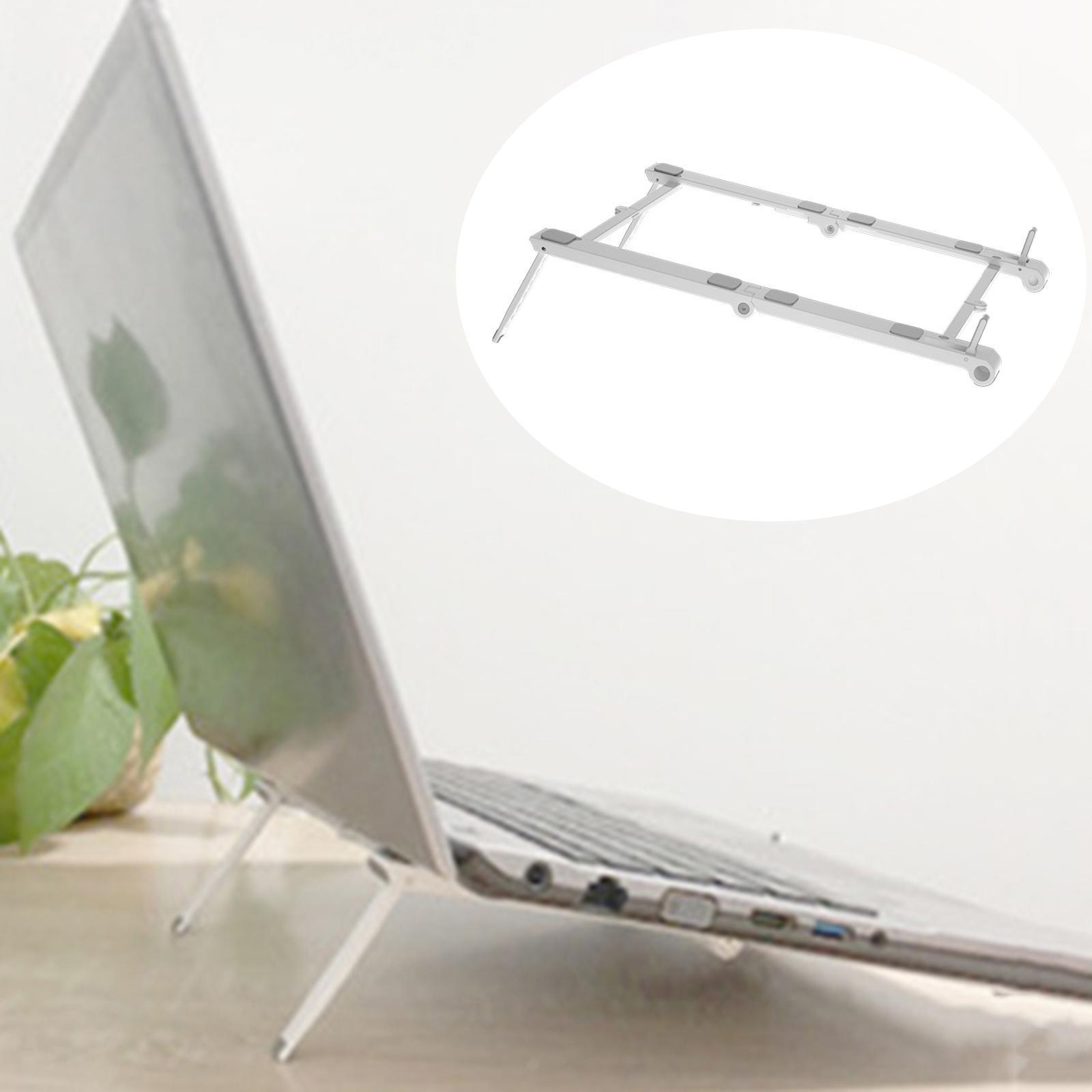 thumbnail 7 - 3 in1 Adjustable Laptop Stand Ergonomic Folding Hollow Radiating for Bracket