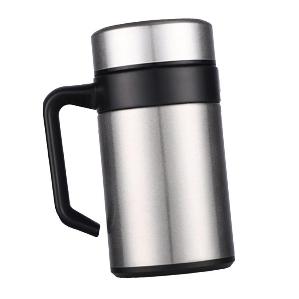 Stainless-400ml-Vacuum-Thermal-Cup-Insulated-Travel-Coffee-Mug-w-Tea-Filter thumbnail 10