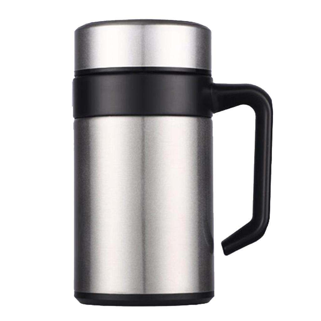 Stainless-400ml-Vacuum-Thermal-Cup-Insulated-Travel-Coffee-Mug-w-Tea-Filter thumbnail 11