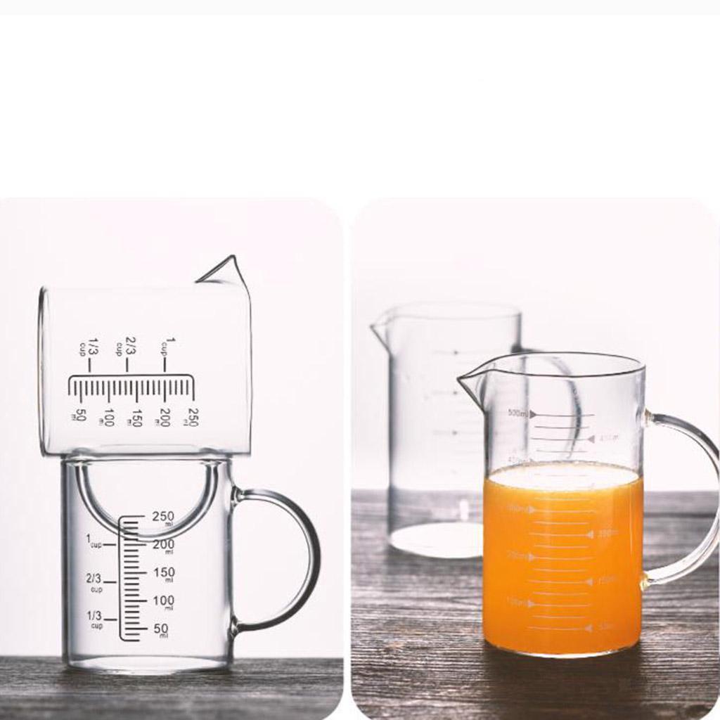Misurino-in-vetro-borosilicato-con-intervalli-di-250-500ML-Accessori-da-cucina miniatura 12