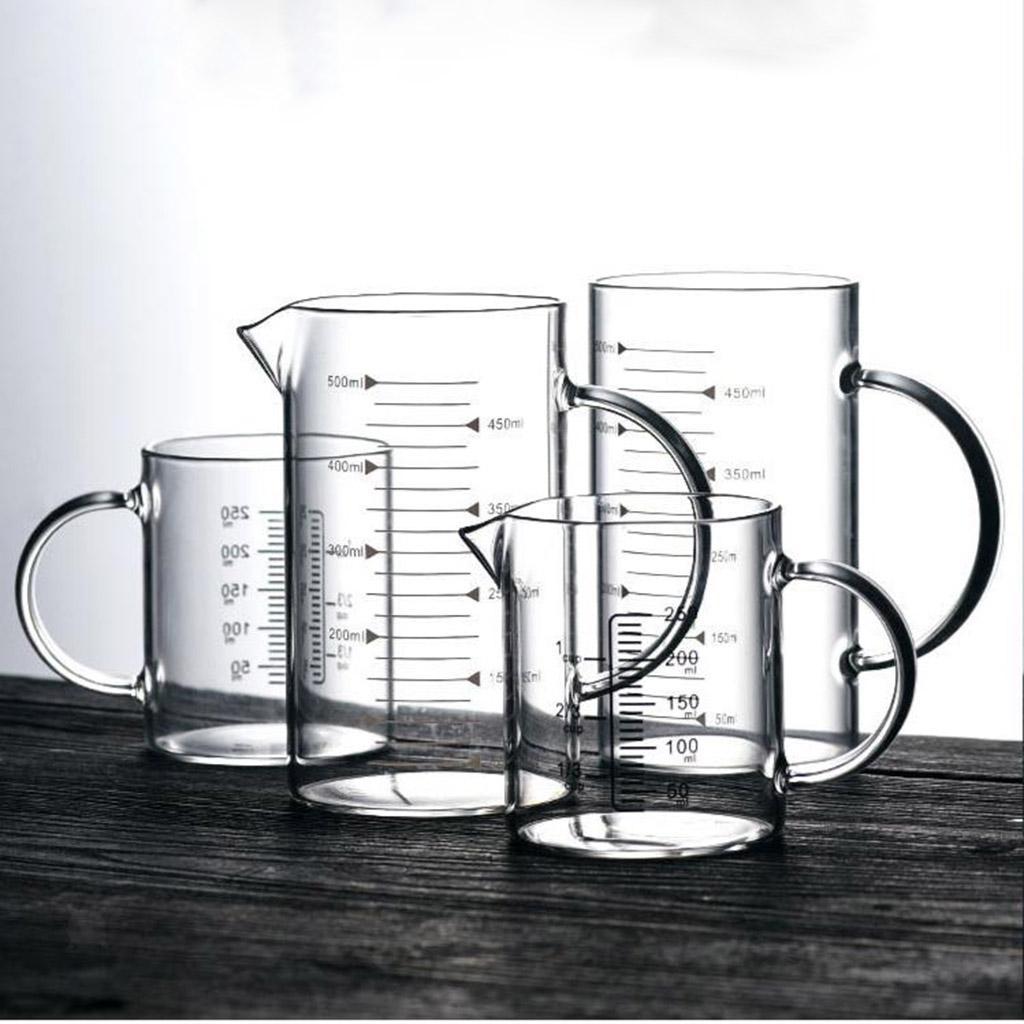Misurino-in-vetro-borosilicato-con-intervalli-di-250-500ML-Accessori-da-cucina miniatura 6