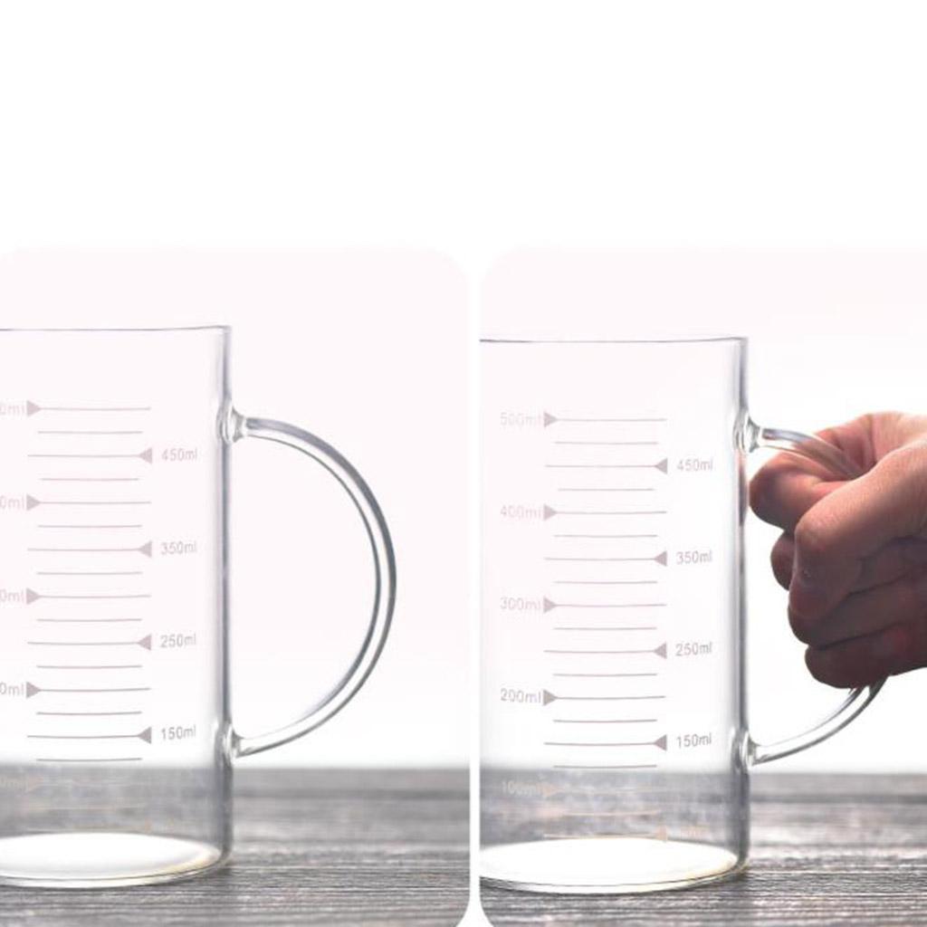 Misurino-in-vetro-borosilicato-con-intervalli-di-250-500ML-Accessori-da-cucina miniatura 8