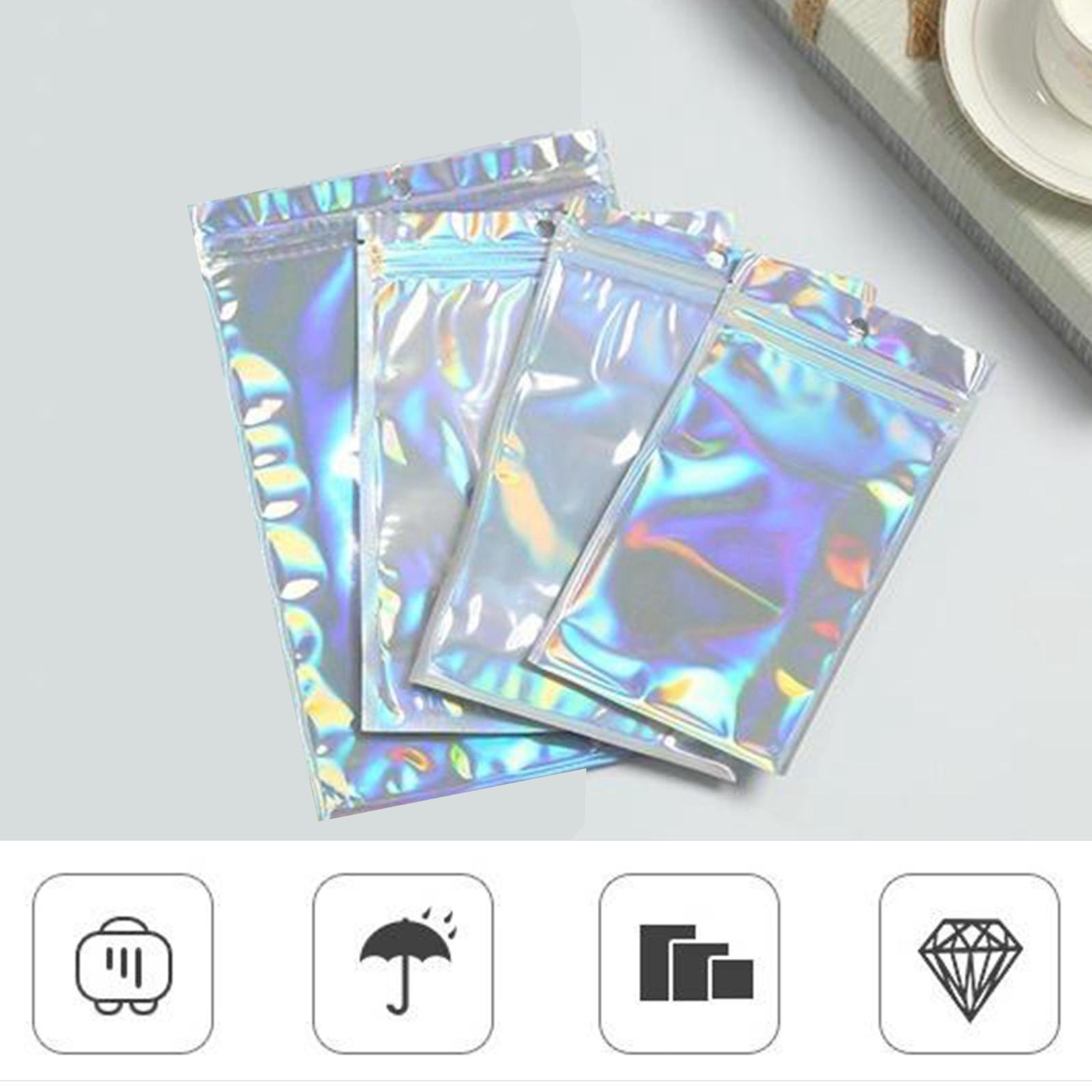 100-pezzi-sacchetti-di-pellicola-trasparente-sacchetto-sigillatura-richiudibile miniatura 4