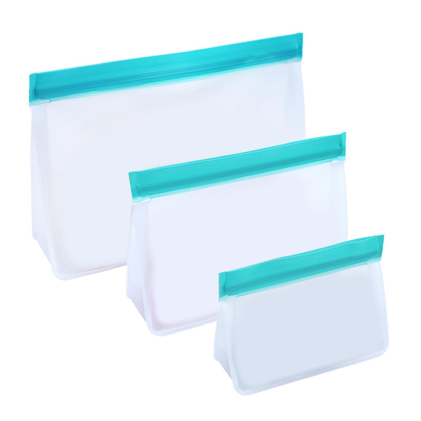 3-pezzi-di-Cibo-Sacchetto-di-Immagazzinaggio-Fresco-PEVA-Carne-Frutta-BPA-Libero miniatura 44
