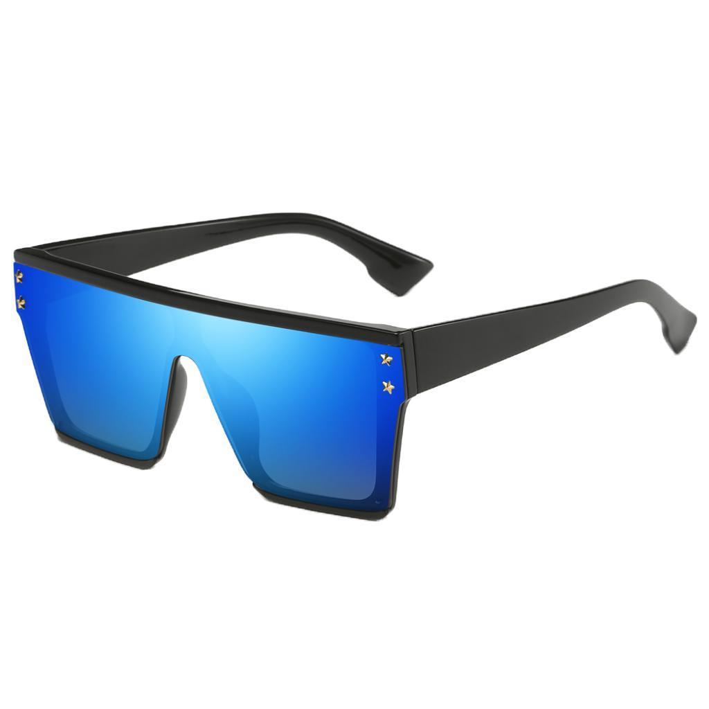 Square-Oversize-Sonnenbrillen-Fashion-Flat-Top-UV400-Sonnenbrille-fuer Indexbild 6