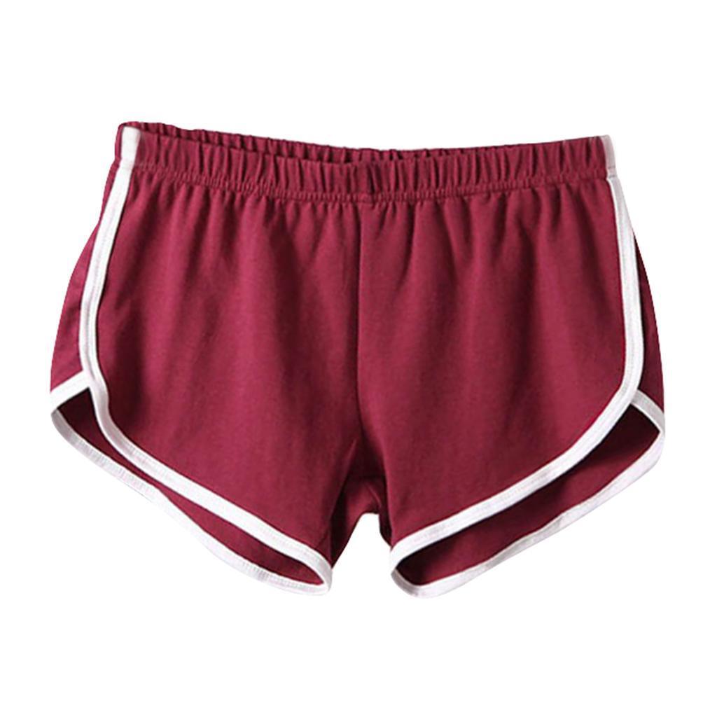 Shorts-de-sport-en-soie-de-lait-pour-femmes-Yoga-Dance-Pantalons-courts-Shorts miniature 12