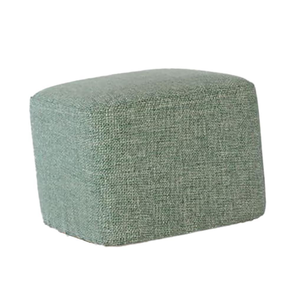 miniatura 9 - Manicotto-Protettivo-Per-Sgabelli-Quadrati-In-Legno-Accessorio-Poggiapiedi