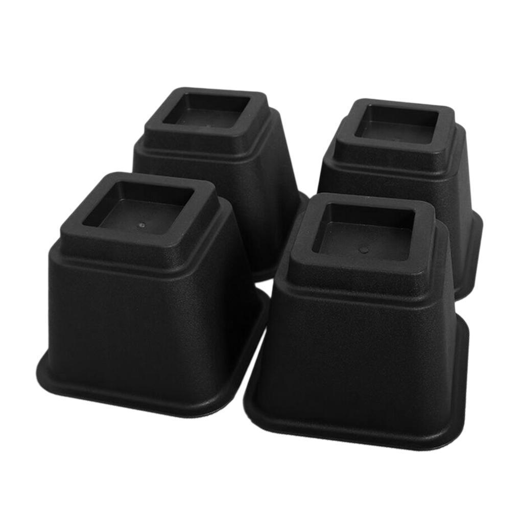 4x-Riser-da-Letto-Sollevatore-Regolabile-per-Mobili-con-4-Gambe-Disegno-Modulare miniatura 3