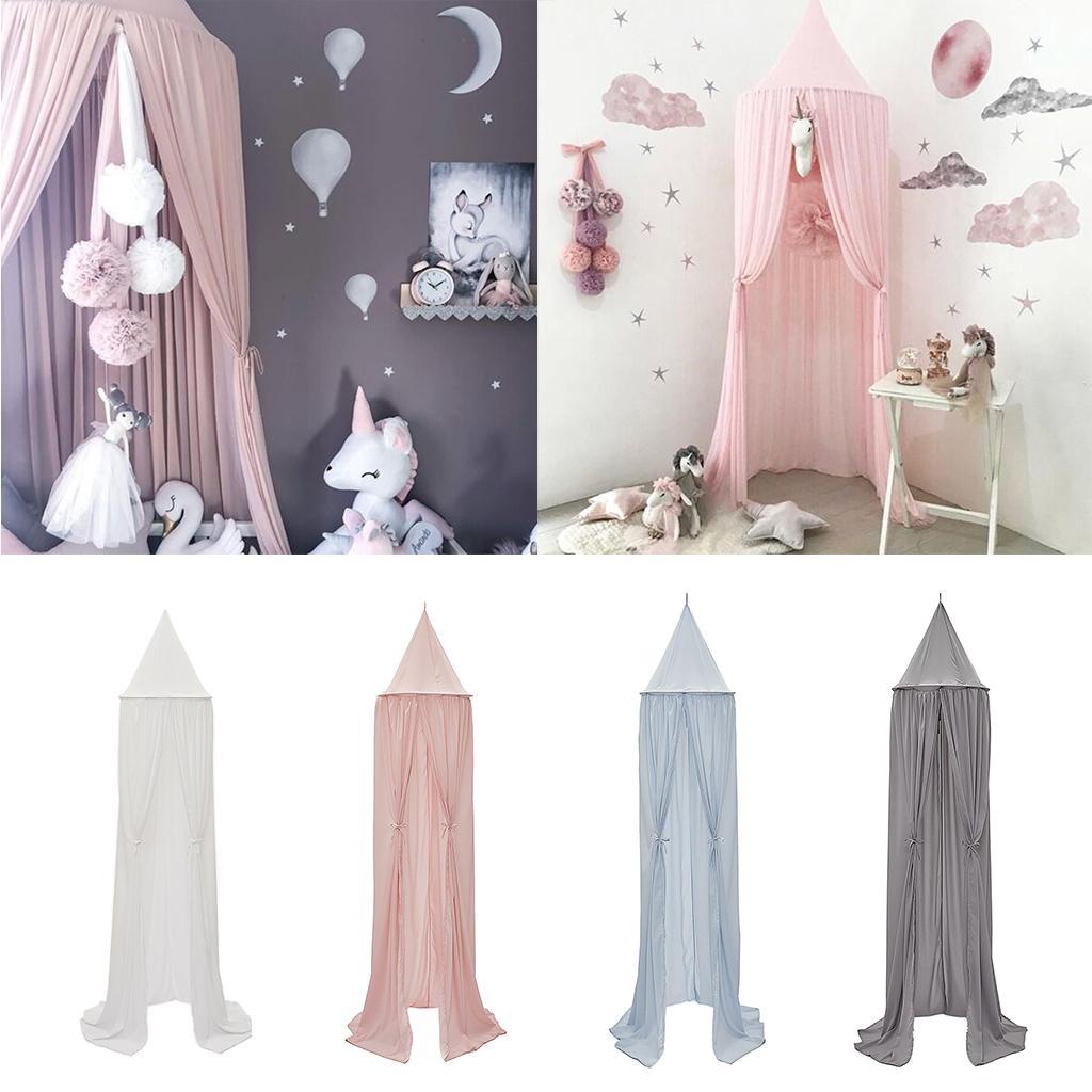 Kinderbett Baldachin Kuppel Moskitonetz Betten Vorhänge drapieren
