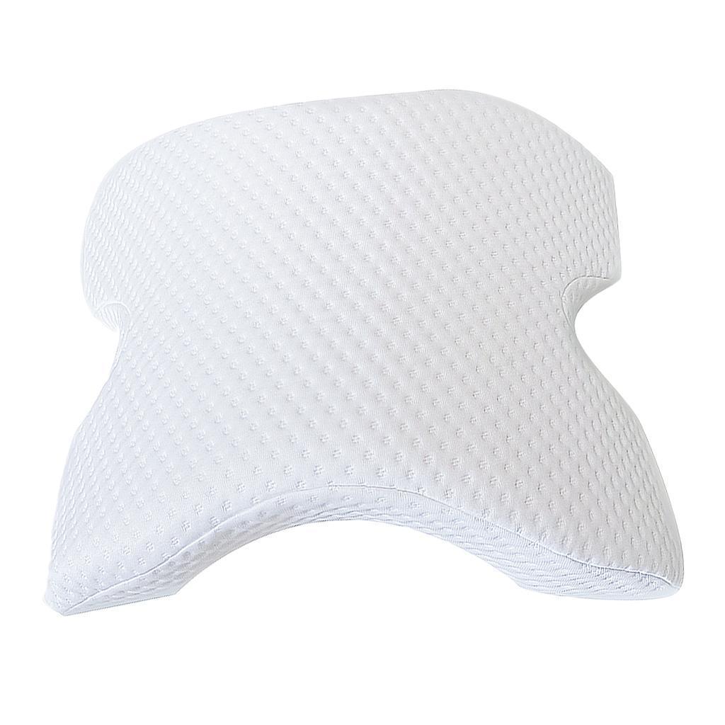 Cuscino-In-Memory-Foam-Protezione-Per-Il-Collo-Del-Cuscino-Mano-A-Rimbalzo miniatura 4
