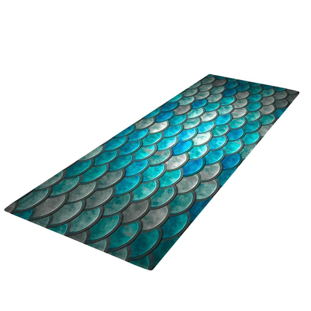 Digitale-Stampata-3D-Tappetino-Runner-Antiscivolo-Area-Rug-Carpet miniatura 9