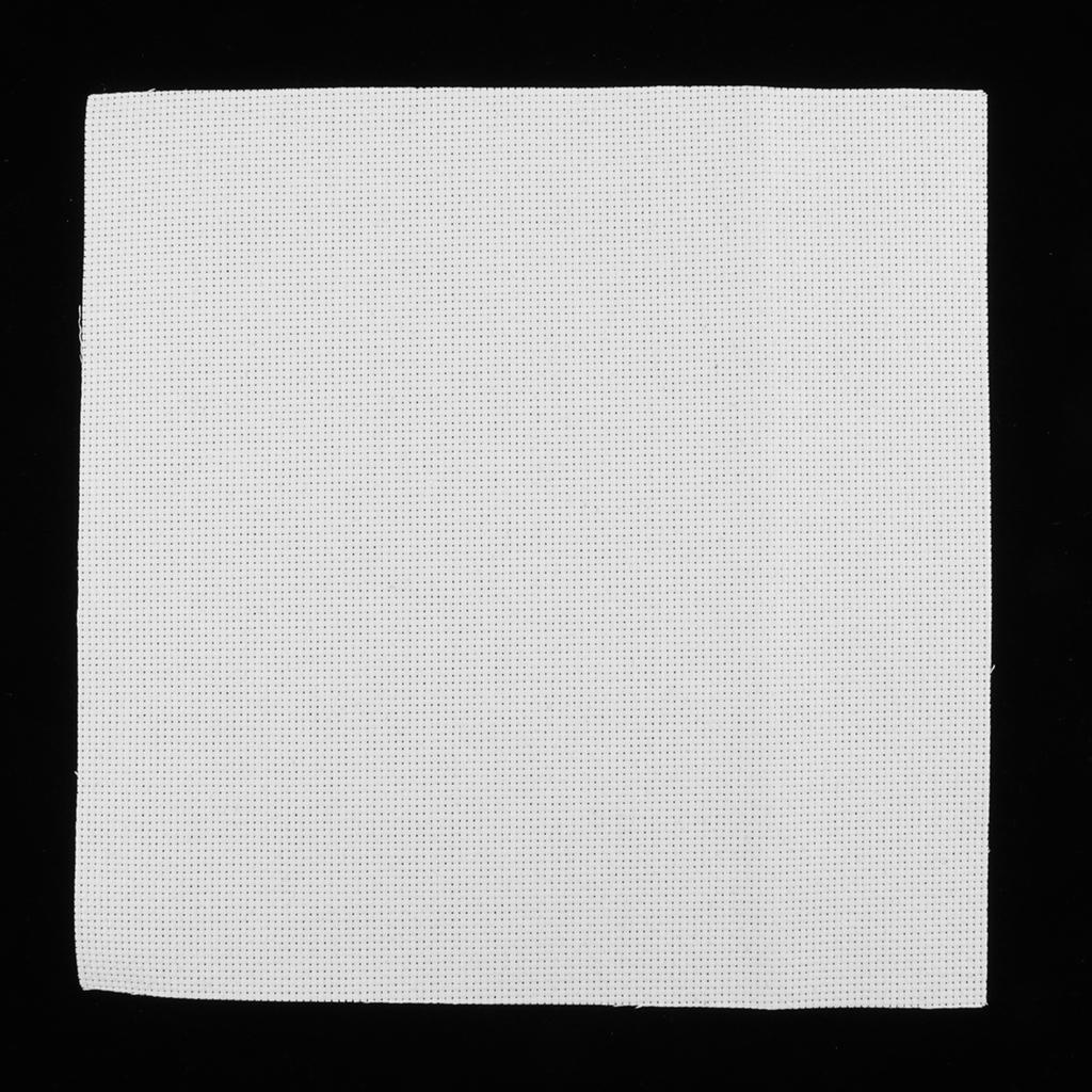11 14 Count Blank Aida Cloth Cross Stitch Needlework Fabric Embroidery Cloth