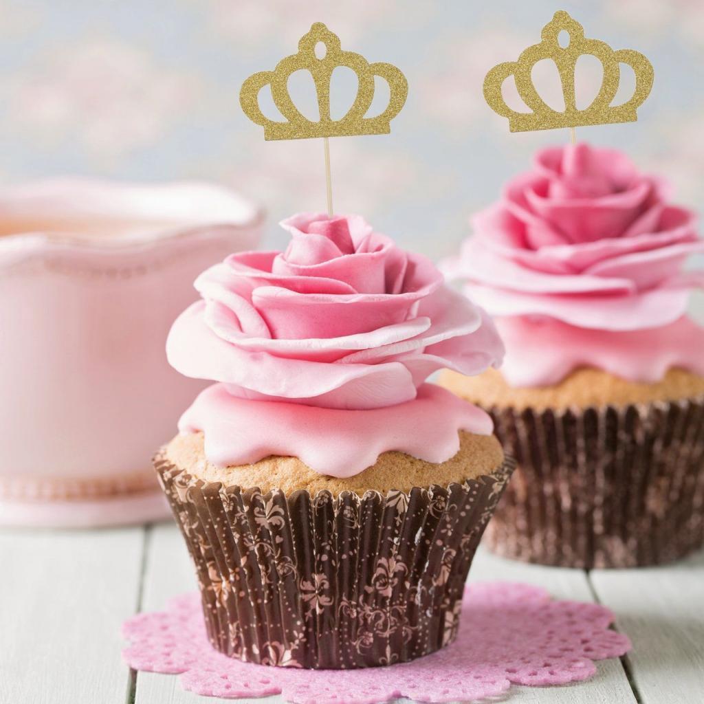 4-10pcs-DIY-Birthday-Cake-Cupcake-Toppers-Food-Picks-Baby-Shower-Party-Decor thumbnail 12