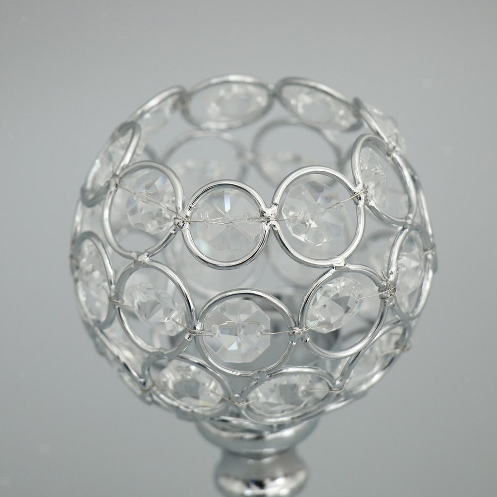 CRYSTAL-TABLE-STAND-CANDLE-HOLDER-CANDLESTICK-WEDDING-HOLIDAYS-CHRISTMAS-EVENTS thumbnail 16