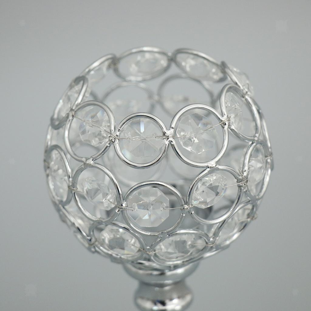 Porte-bougie-En-Cristal-Mosaique-Supporte-de-Bougie-pour-Fete-Decoration miniature 15