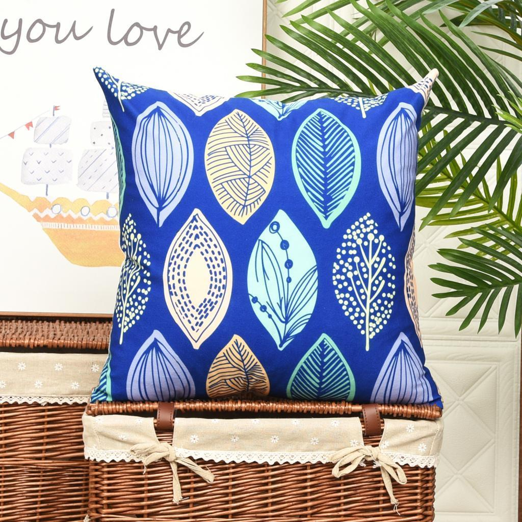 18inch Velvet Throw Pillow Cover Case Polyester Sofa Cushion Covers Ebay