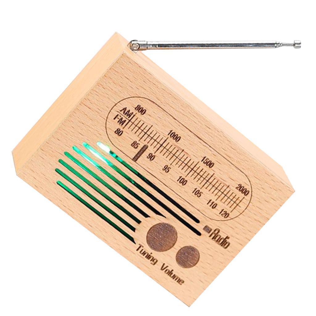 Retro-Clockwork-Music-Box-Radio-Music-Box-Shelf-Musical-Ornaments-Boys-Gift thumbnail 16