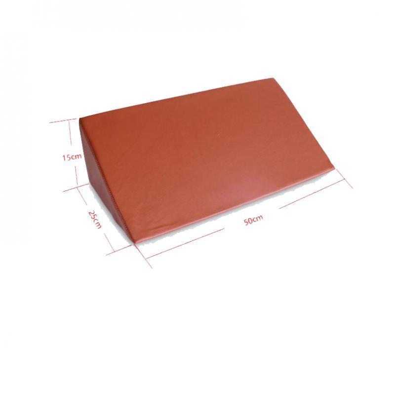 thumbnail 11 - Foam-Wedge-Pillow-Elevation-Cushion-Lumbar-Support-Cottong-or-PU-Leather-Zipper