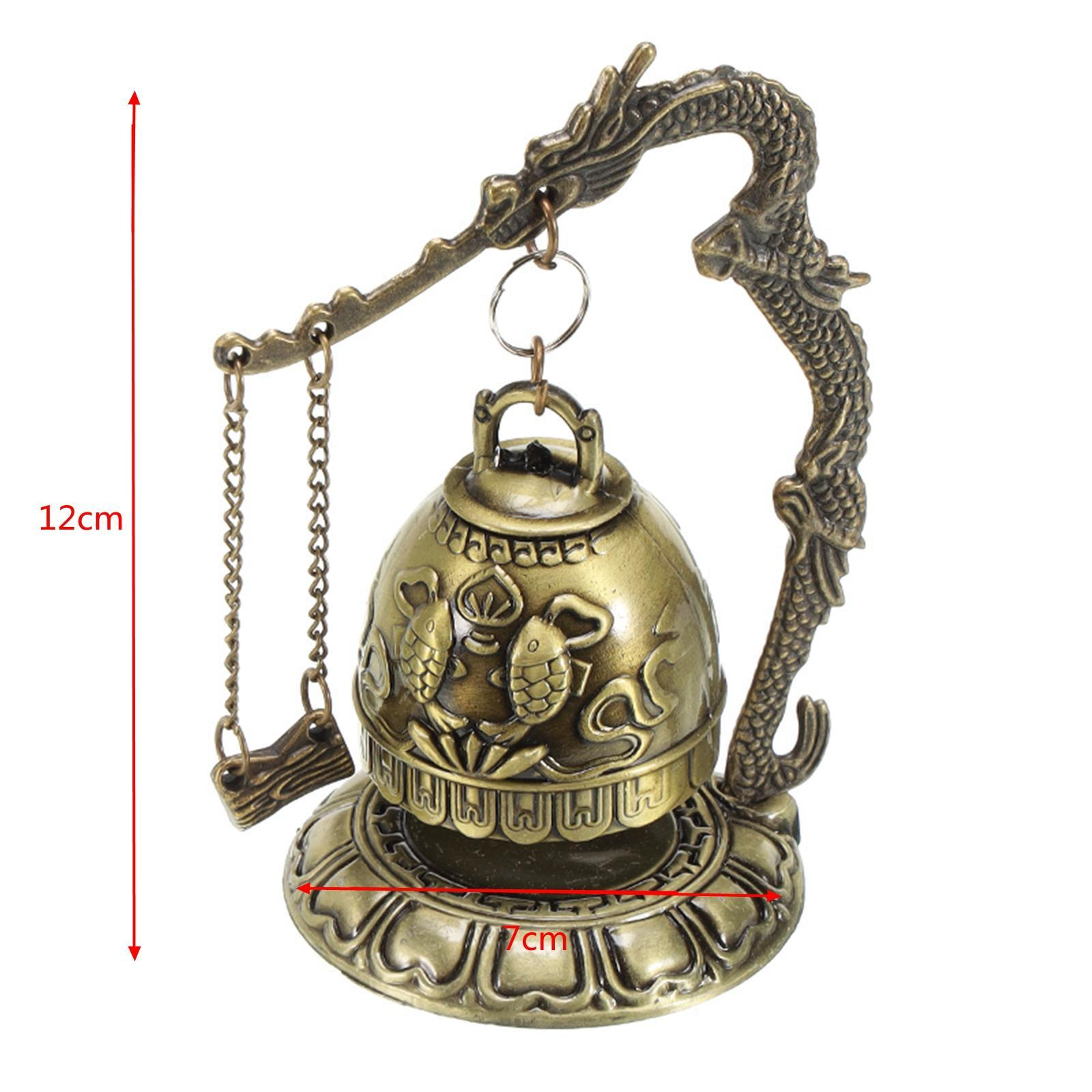 miniatura 42 - Buddha Drago Fengshui campana giocattoli tibetano per Home GIARDINO