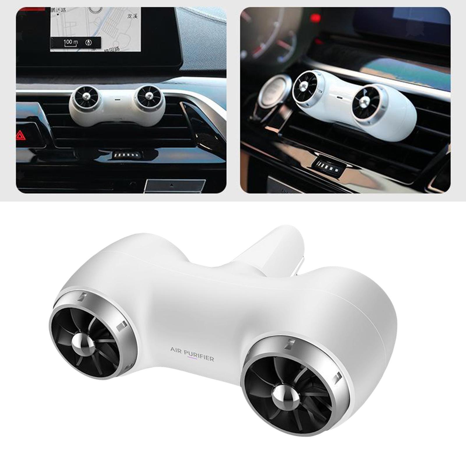 Indexbild 3 - Car Air Purifier Deodorizer Vehicles Smoke Eliminator Dust Air Freshener