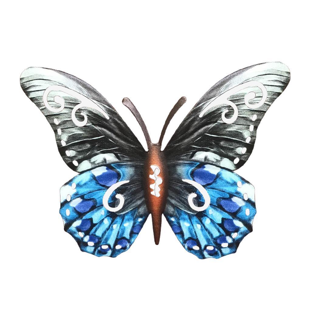 miniatura 40 - Farfalla Natura Opere D'arte Della Parete Appeso Animale Scultura per la
