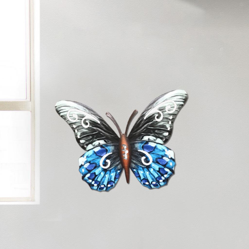 miniatura 35 - Farfalla Natura Opere D'arte Della Parete Appeso Animale Scultura per la