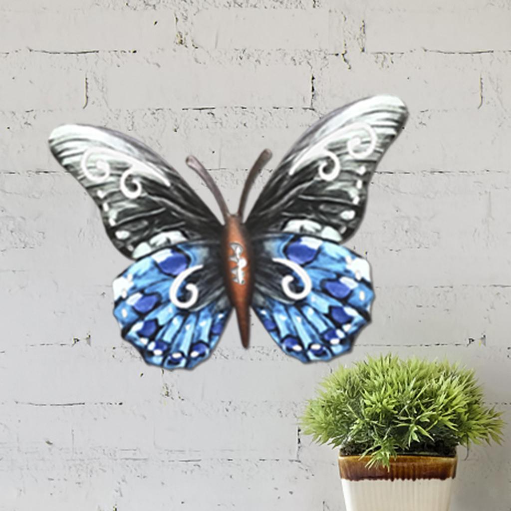 miniatura 38 - Farfalla Natura Opere D'arte Della Parete Appeso Animale Scultura per la