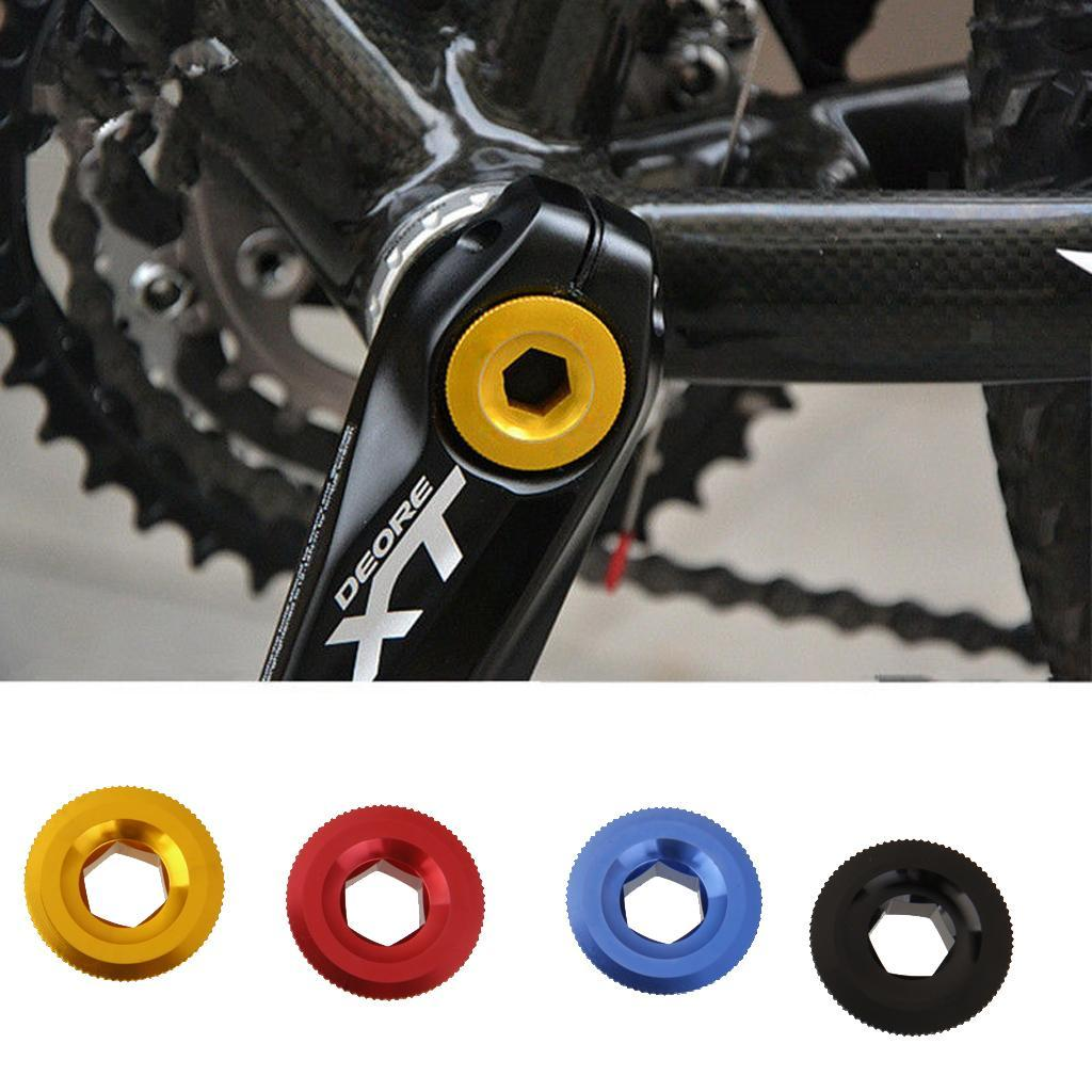 Anodized Arm Fixing Bolt Bike Bicycle Crank Chainset Screw Axis For Shimano SE