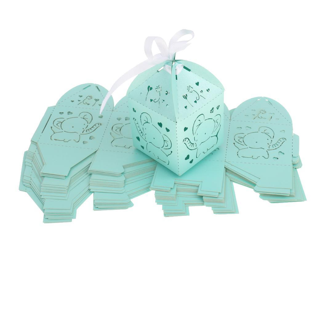 Confezione-regalo-mini-caramelle-vuote-da-25-pezzi-per-baby-shower-compleanno miniatura 8