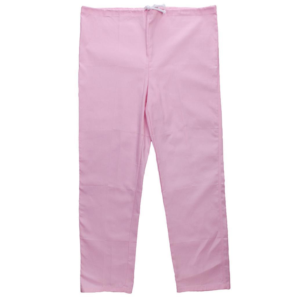 Men-Women-Scrub-Sets-Medical-Spa-Nursing-Clinic-Hospital-Uniform-Top-Pants miniature 39