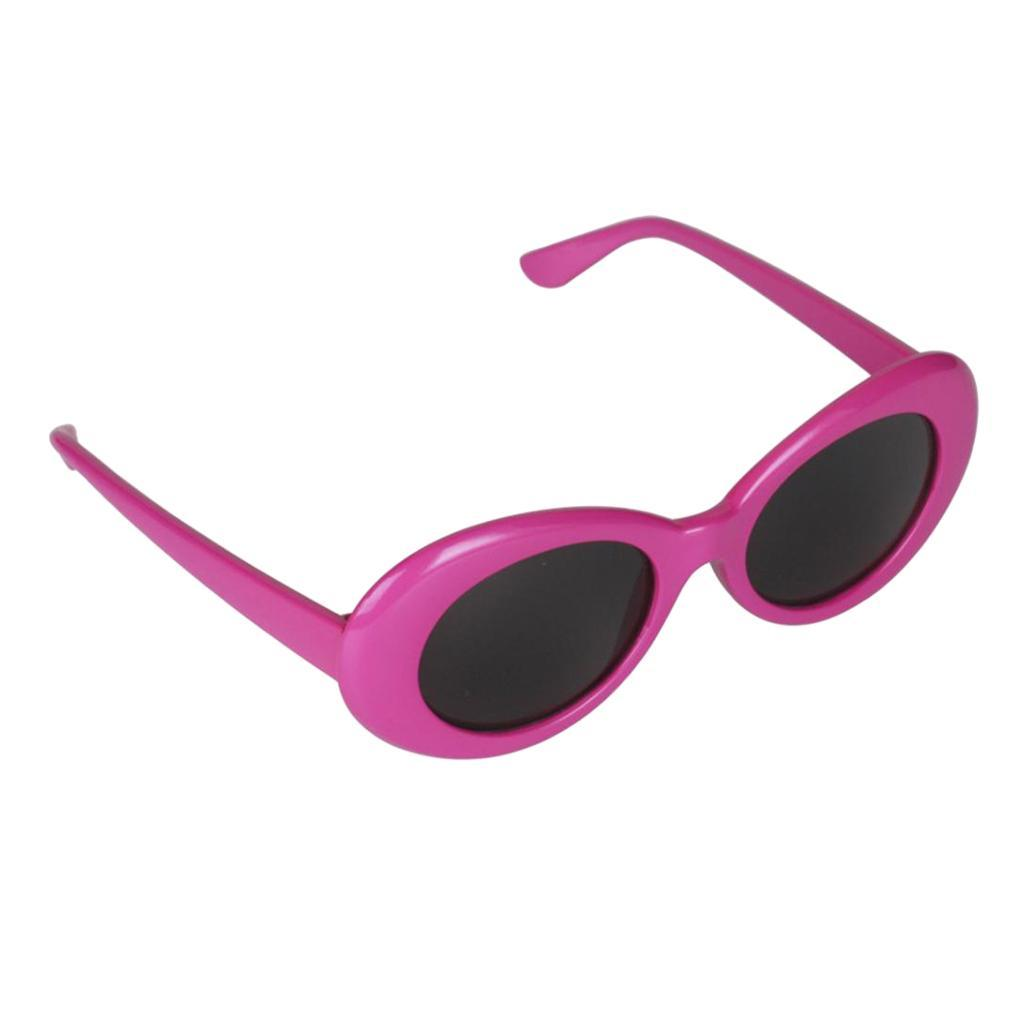 thumbnail 15 - Novelty-Oval-Mod-Thick-Sunglasses-Clout-Goggles-Sun-Protection-Unisex