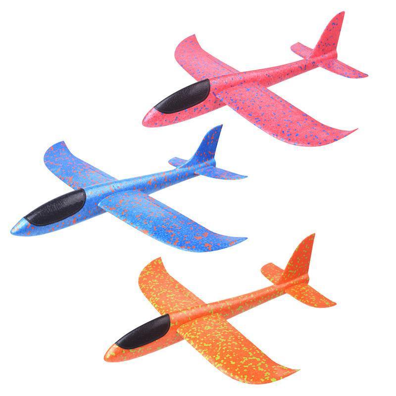 Kinder-Wurf-Segelflugzeug-Glider-Flugzeug-Spielzeug-im-Freien-33-x-34-cm Indexbild 6