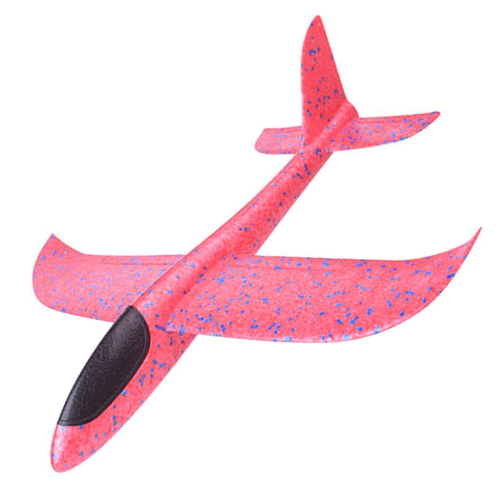 Kinder-Wurf-Segelflugzeug-Glider-Flugzeug-Spielzeug-im-Freien-33-x-34-cm Indexbild 7